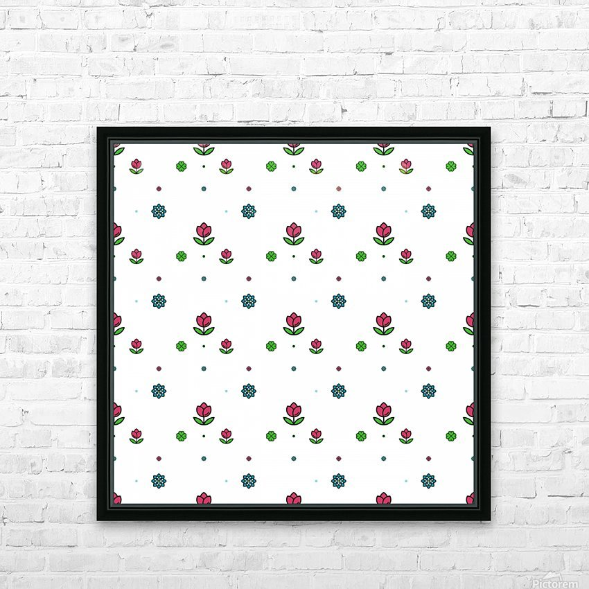 flowers, patterns, pattern, cute, nice, beautiful, bright, colorful, lovely, sexy, vibrant, summer, color, colors, hot, garden, pretty, attractive, amazing, petals, springtime, flora, n (2) HD Sublimation Metal print with Decorating Float Frame (BOX)