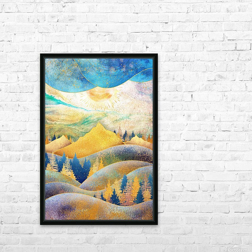 Beauty of Nature - Illustration III HD Sublimation Metal print with Decorating Float Frame (BOX)