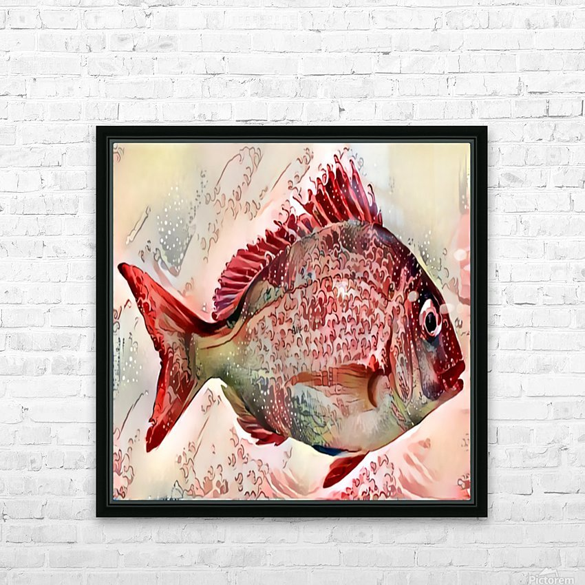 Ocean Art HD Sublimation Metal print with Decorating Float Frame (BOX)