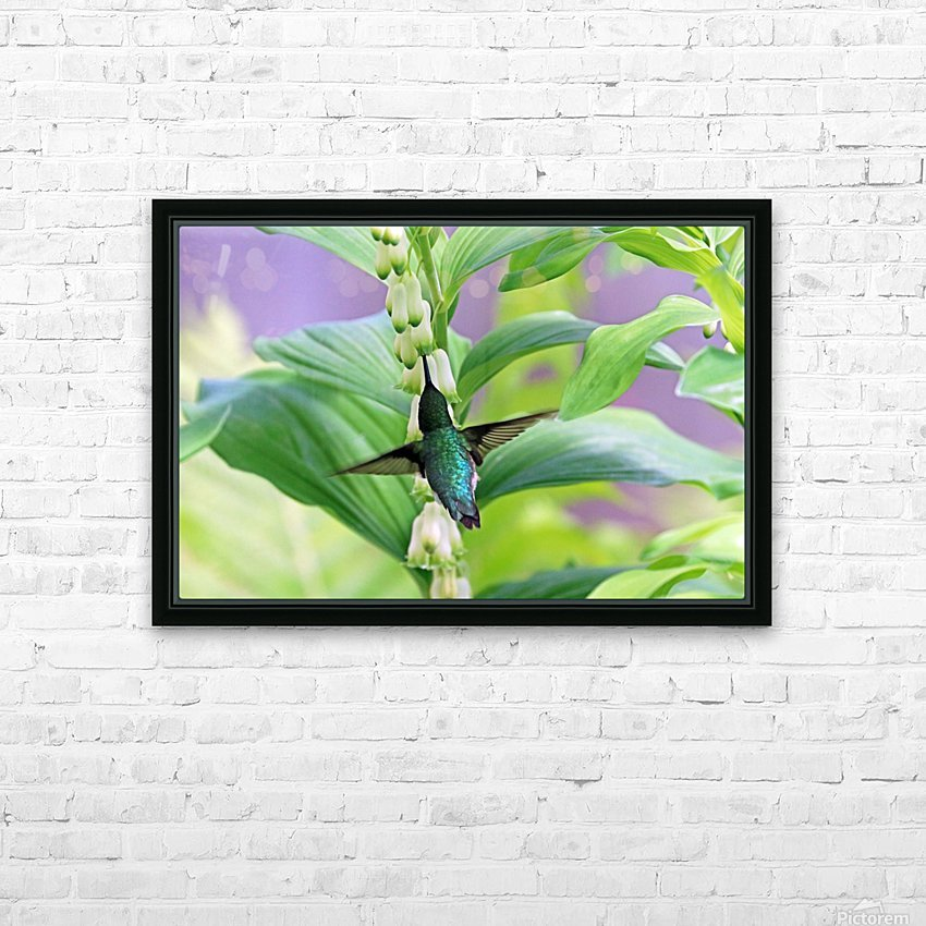 Hummer And Solomon Seal HD Sublimation Metal print with Decorating Float Frame (BOX)