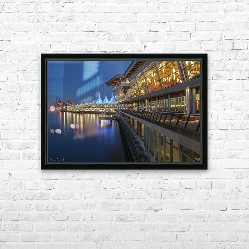 Vancouver Convention Ctr_DSC3889 HD Sublimation Metal print with Decorating Float Frame (BOX)