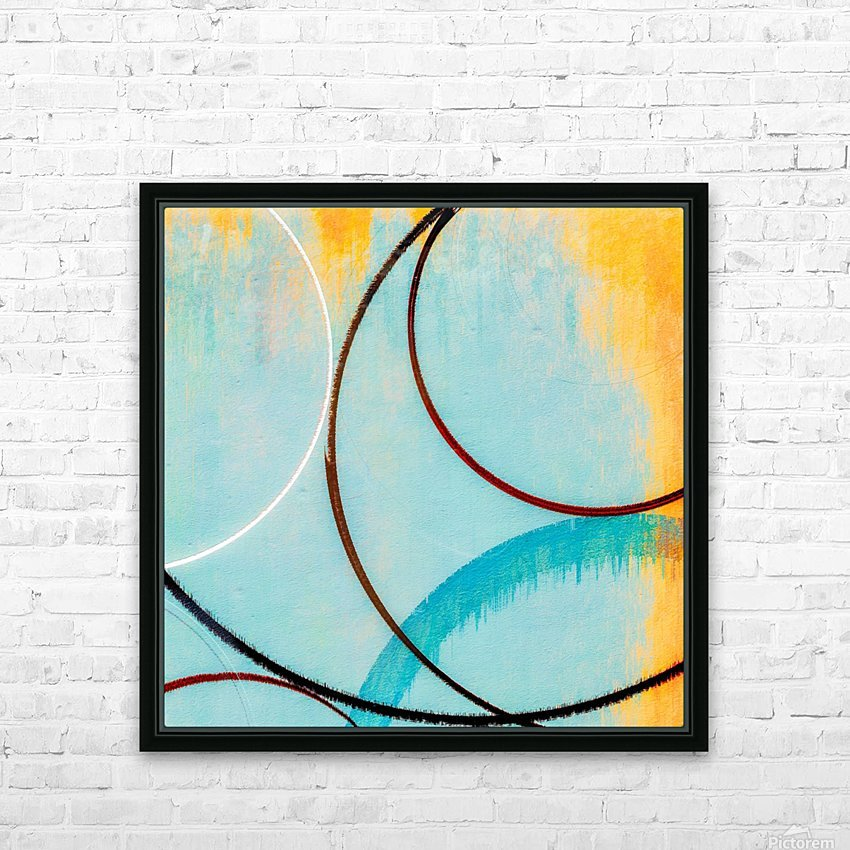 In Certain Circles HD Sublimation Metal print with Decorating Float Frame (BOX)