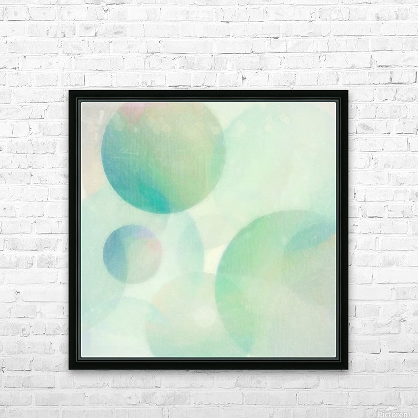 Convergence HD Sublimation Metal print with Decorating Float Frame (BOX)