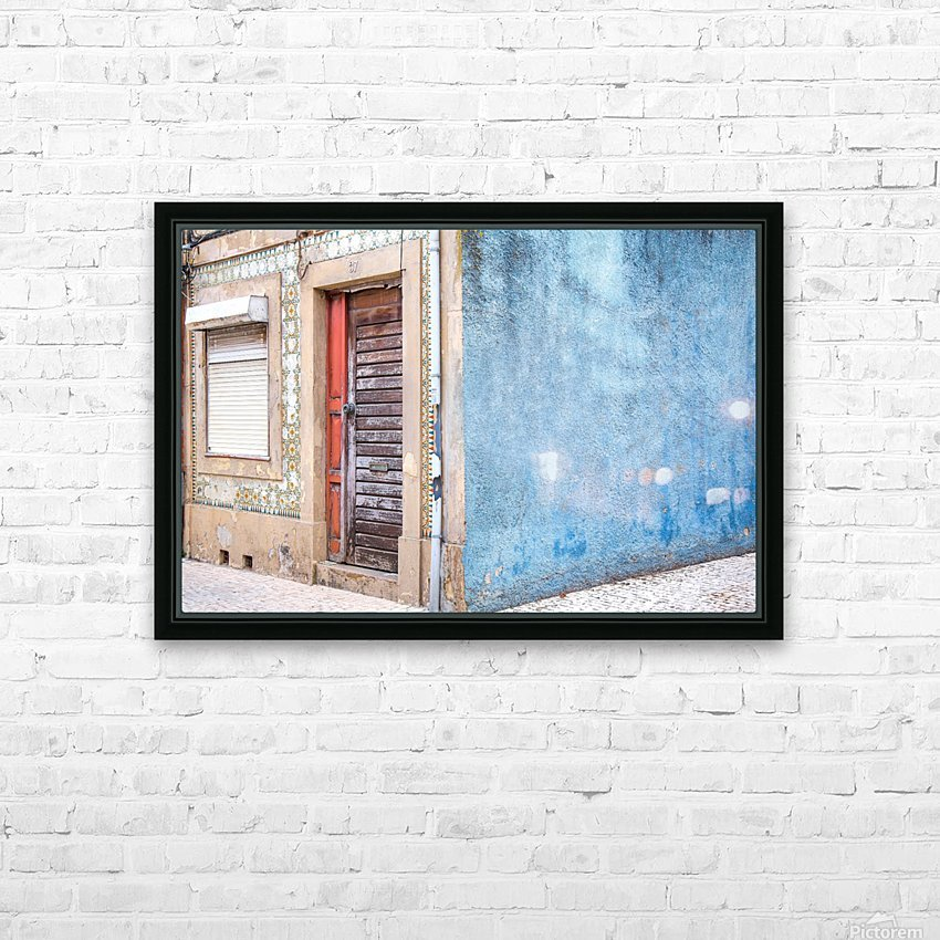 Aveiro  Portugal 19 HD Sublimation Metal print with Decorating Float Frame (BOX)