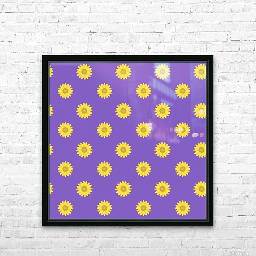 Sunflower (35)_1559875864.5853 HD Sublimation Metal print with Decorating Float Frame (BOX)