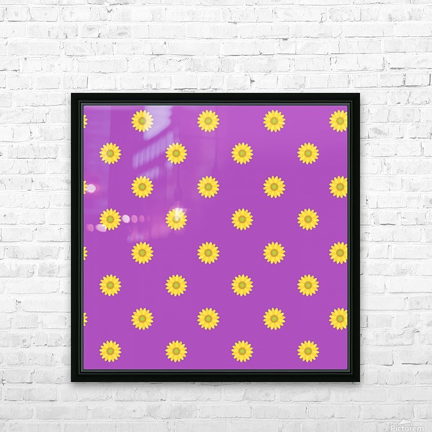 Sunflower (34)_1559875863.0428 HD Sublimation Metal print with Decorating Float Frame (BOX)