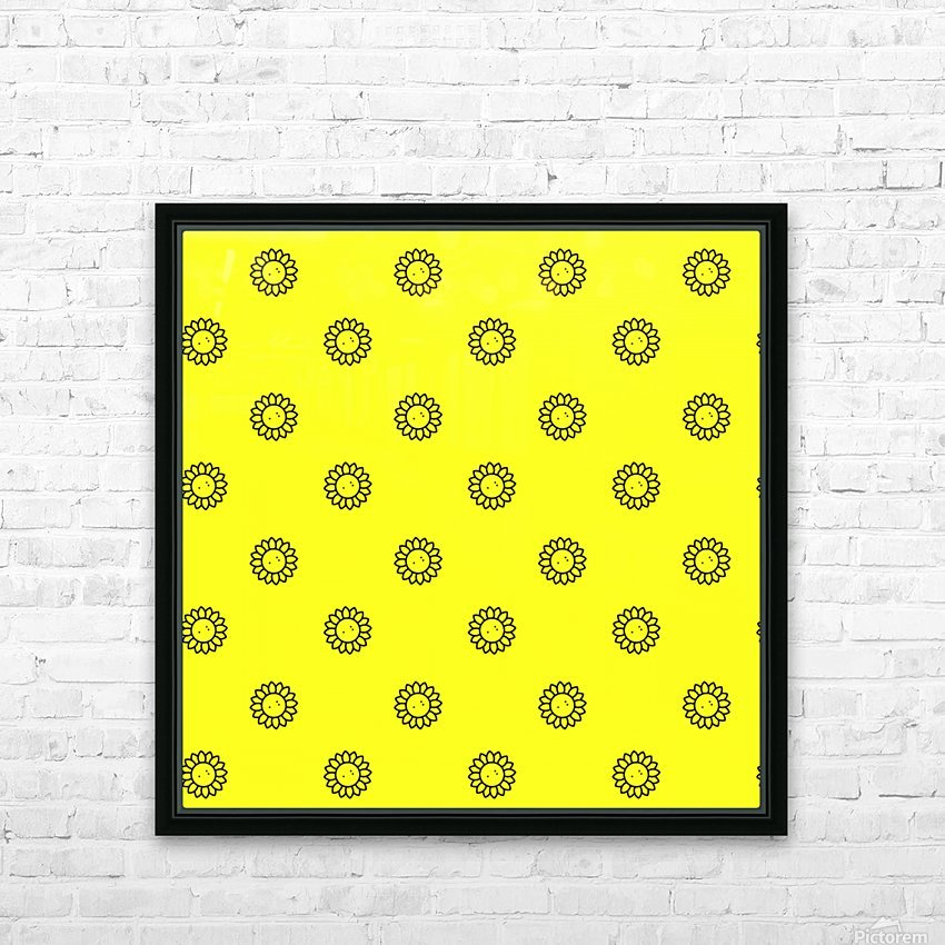 Sunflower (25)_1559875863.1124 HD Sublimation Metal print with Decorating Float Frame (BOX)