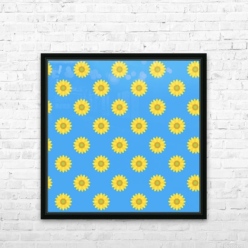 Sunflower (36)_1559875865.5597 HD Sublimation Metal print with Decorating Float Frame (BOX)