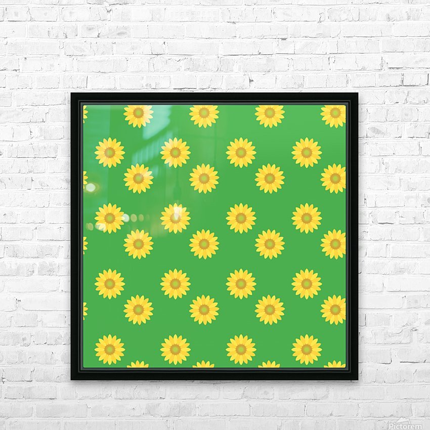 Sunflower (38)_1559876061.2705 HD Sublimation Metal print with Decorating Float Frame (BOX)
