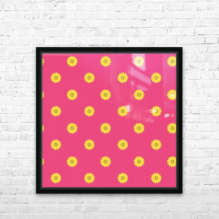 Sunflower (33)_1559876246.7568 HD Sublimation Metal print with Decorating Float Frame (BOX)