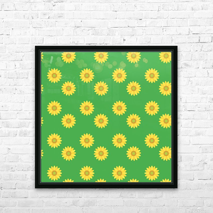 Sunflower (38)_1559876251.973 HD Sublimation Metal print with Decorating Float Frame (BOX)