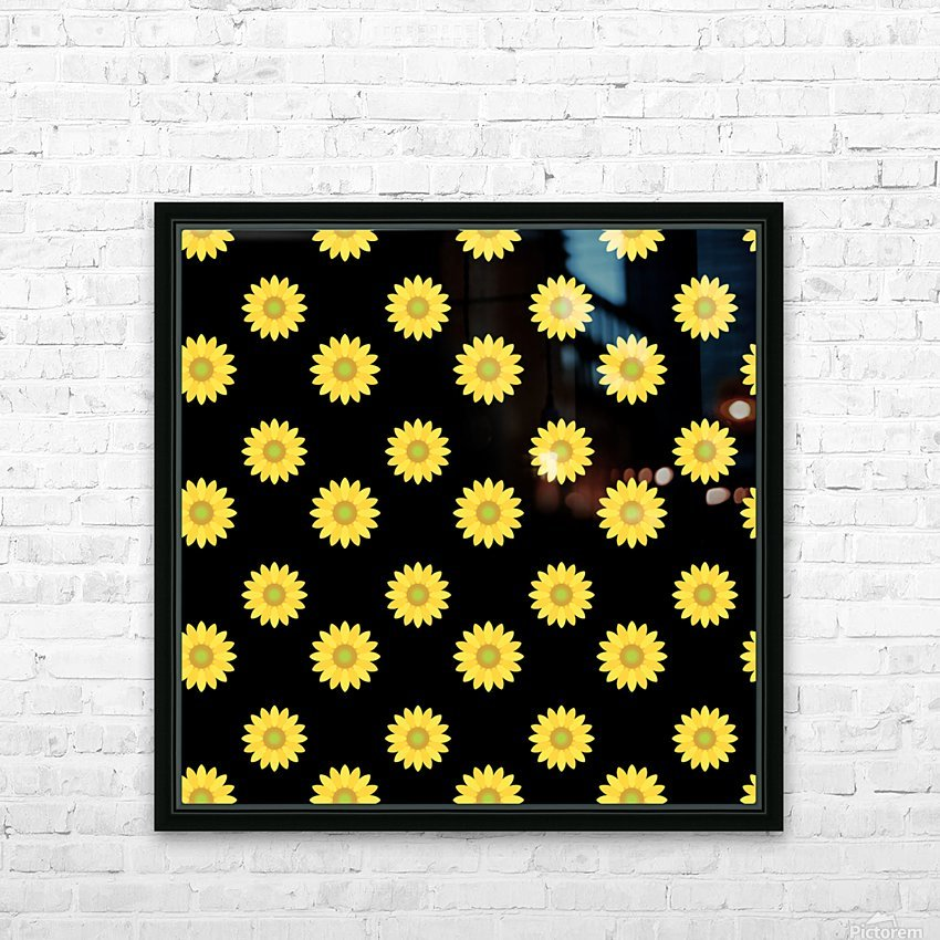 Sunflower (6)_1559876457.017 HD Sublimation Metal print with Decorating Float Frame (BOX)