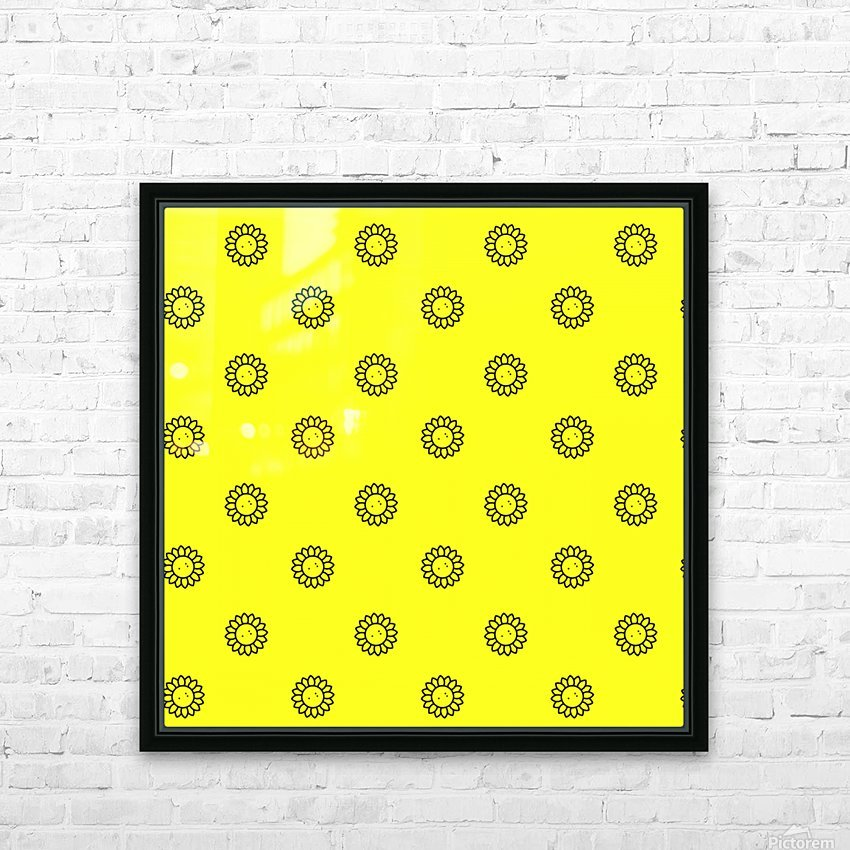 Sunflower (25)_1559876483.2865 HD Sublimation Metal print with Decorating Float Frame (BOX)
