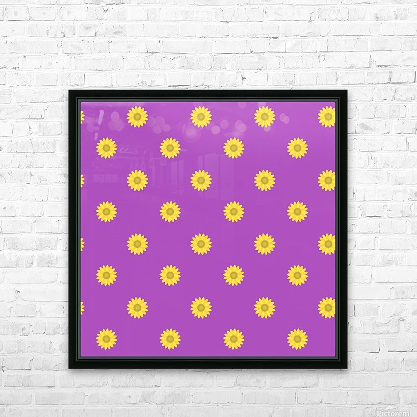 Sunflower (34)_1559876649.9597 HD Sublimation Metal print with Decorating Float Frame (BOX)
