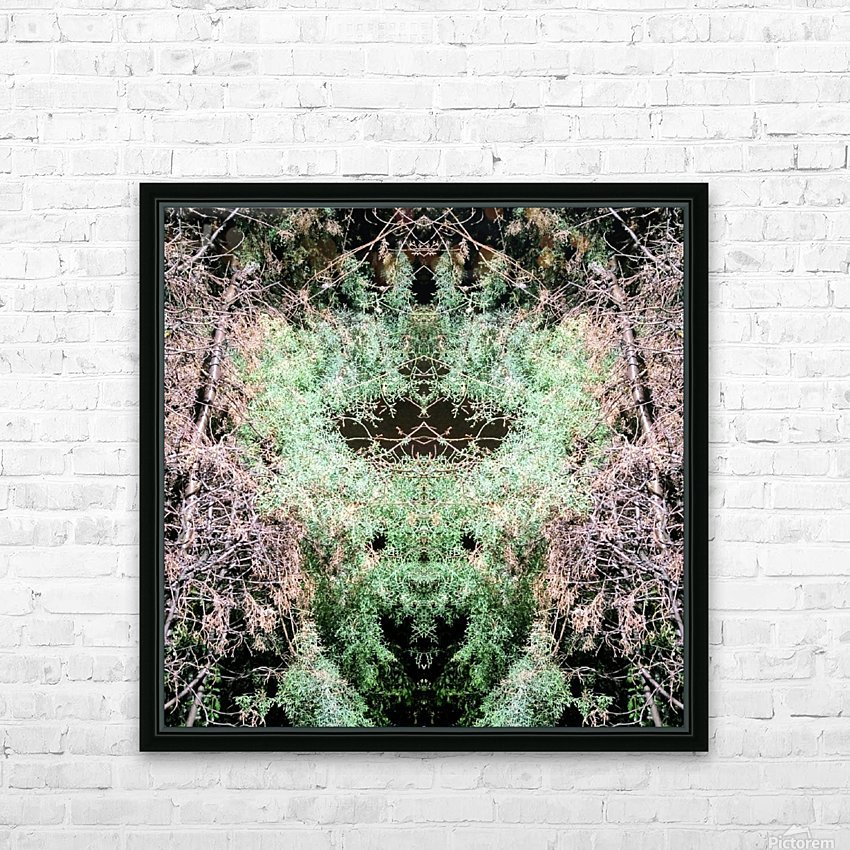 The Child of Green HD Sublimation Metal print with Decorating Float Frame (BOX)