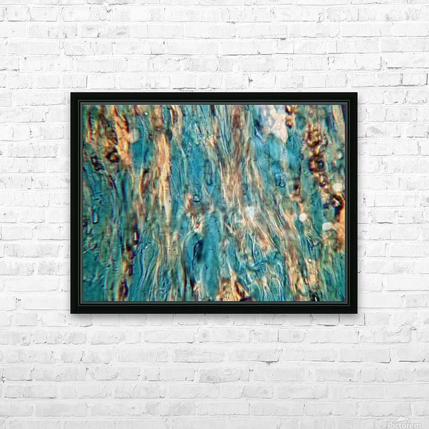 Primordial Sea HD Sublimation Metal print with Decorating Float Frame (BOX)