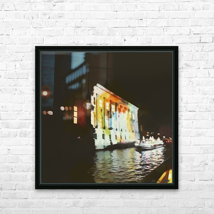 BERLIN_View  076 HD Sublimation Metal print with Decorating Float Frame (BOX)