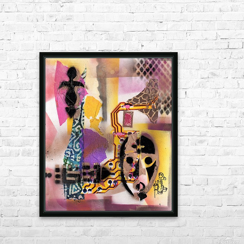 Cultural Remnant - g HD Sublimation Metal print with Decorating Float Frame (BOX)