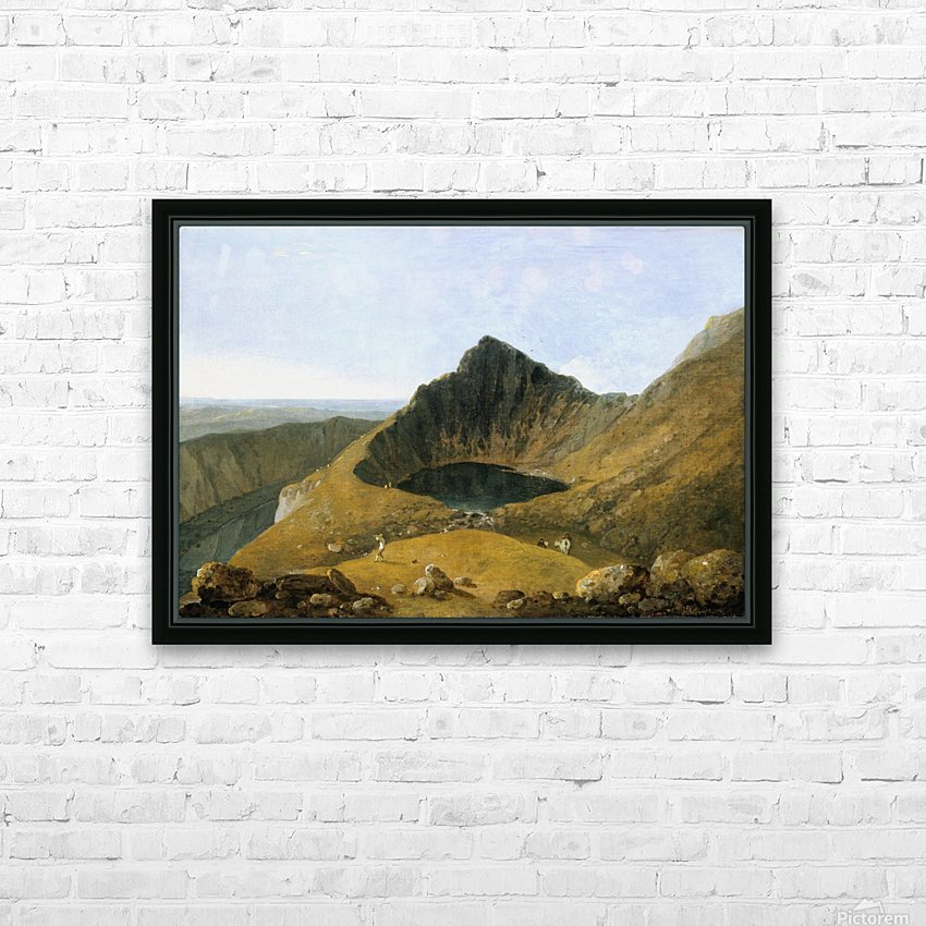 Cader Idris HD Sublimation Metal print with Decorating Float Frame (BOX)