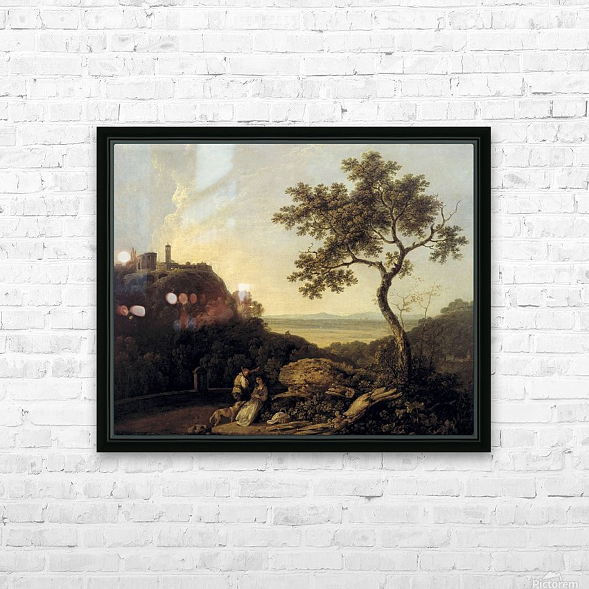 Hadrain's Villa HD Sublimation Metal print with Decorating Float Frame (BOX)