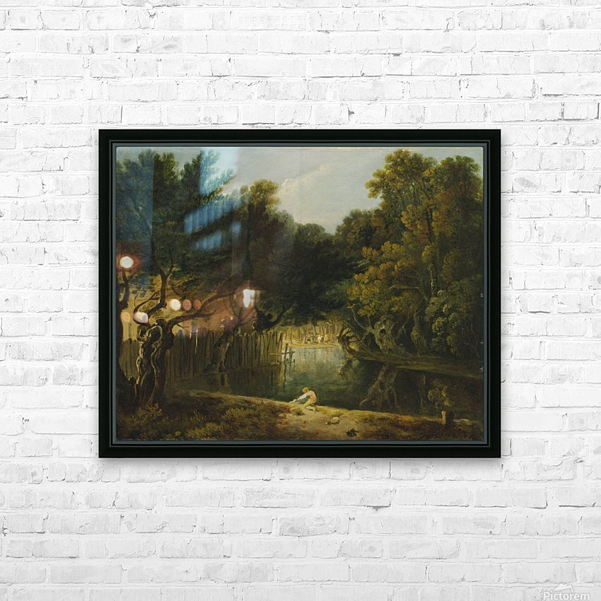 View of the Wilderness in St. James's Park HD Sublimation Metal print with Decorating Float Frame (BOX)