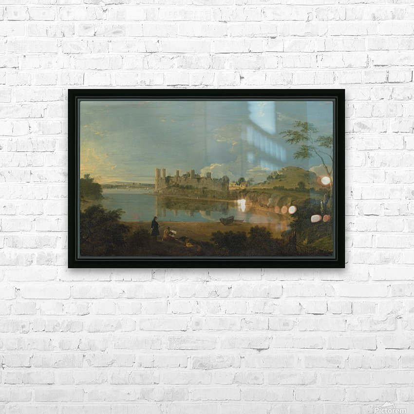 Romantic Castle HD Sublimation Metal print with Decorating Float Frame (BOX)