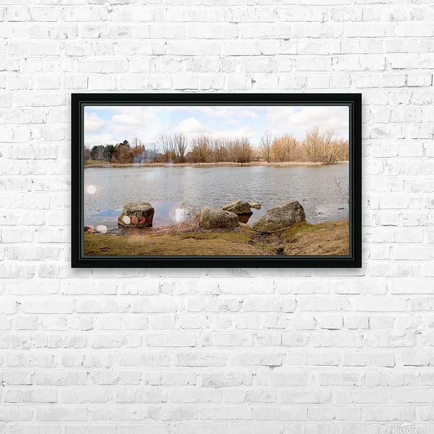 Glen HD Sublimation Metal print with Decorating Float Frame (BOX)