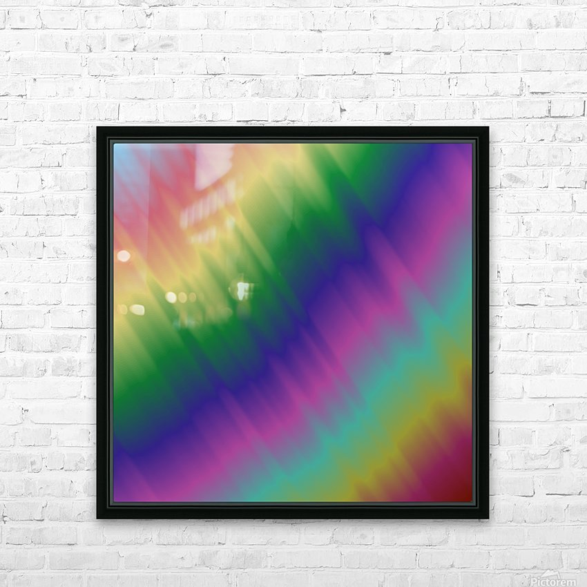 Cool Design (54) HD Sublimation Metal print with Decorating Float Frame (BOX)