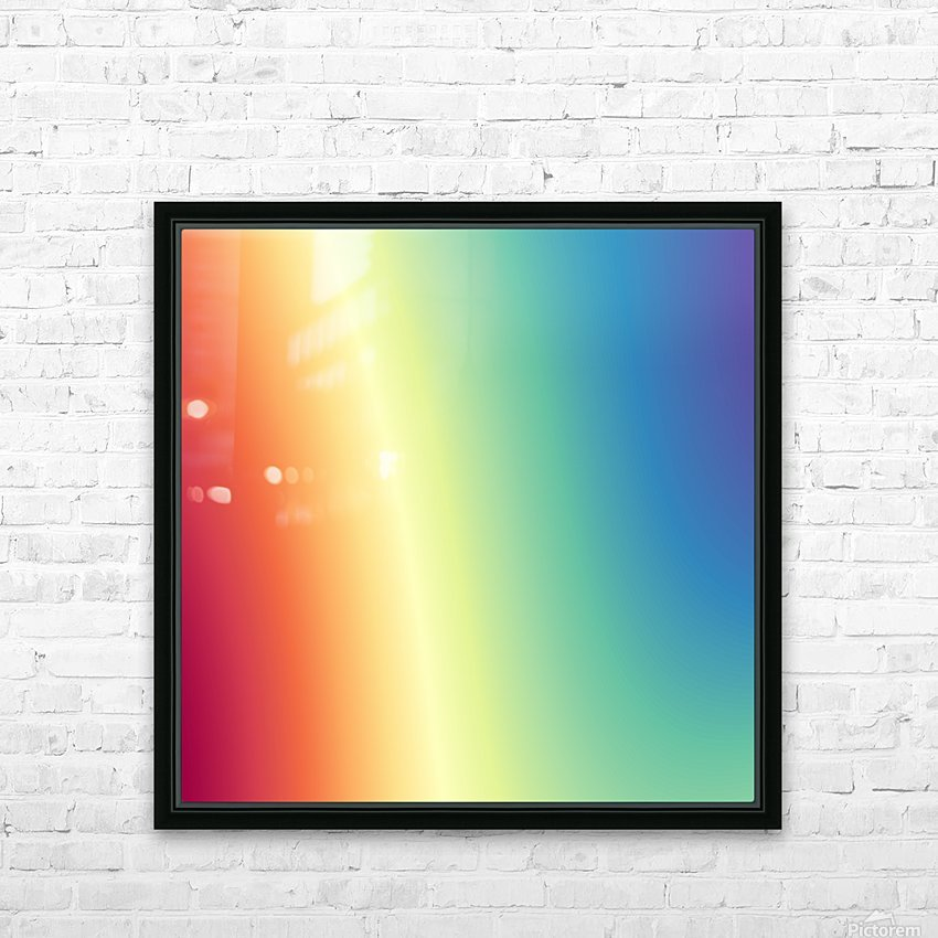 Cool Design (55) HD Sublimation Metal print with Decorating Float Frame (BOX)