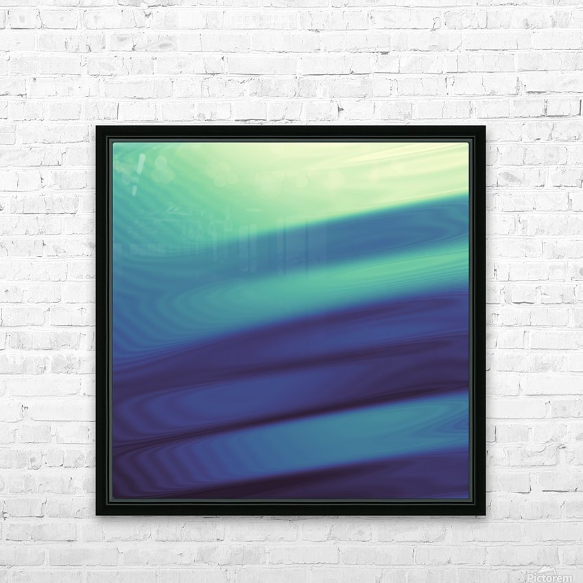 Cool Design (40) HD Sublimation Metal print with Decorating Float Frame (BOX)