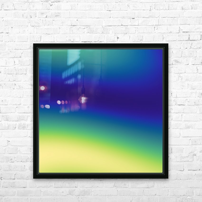 Cool Design (14) HD Sublimation Metal print with Decorating Float Frame (BOX)