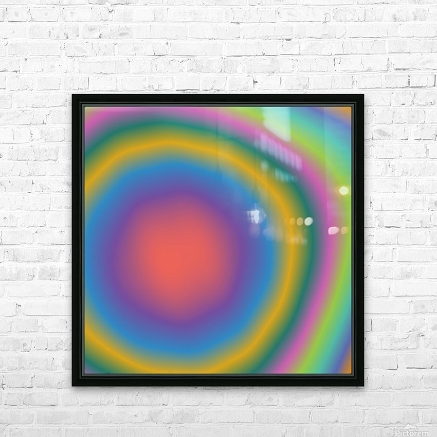 Cool Design (69) HD Sublimation Metal print with Decorating Float Frame (BOX)