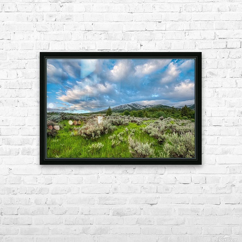 Goodenough Canyon Landscape HD Sublimation Metal print with Decorating Float Frame (BOX)