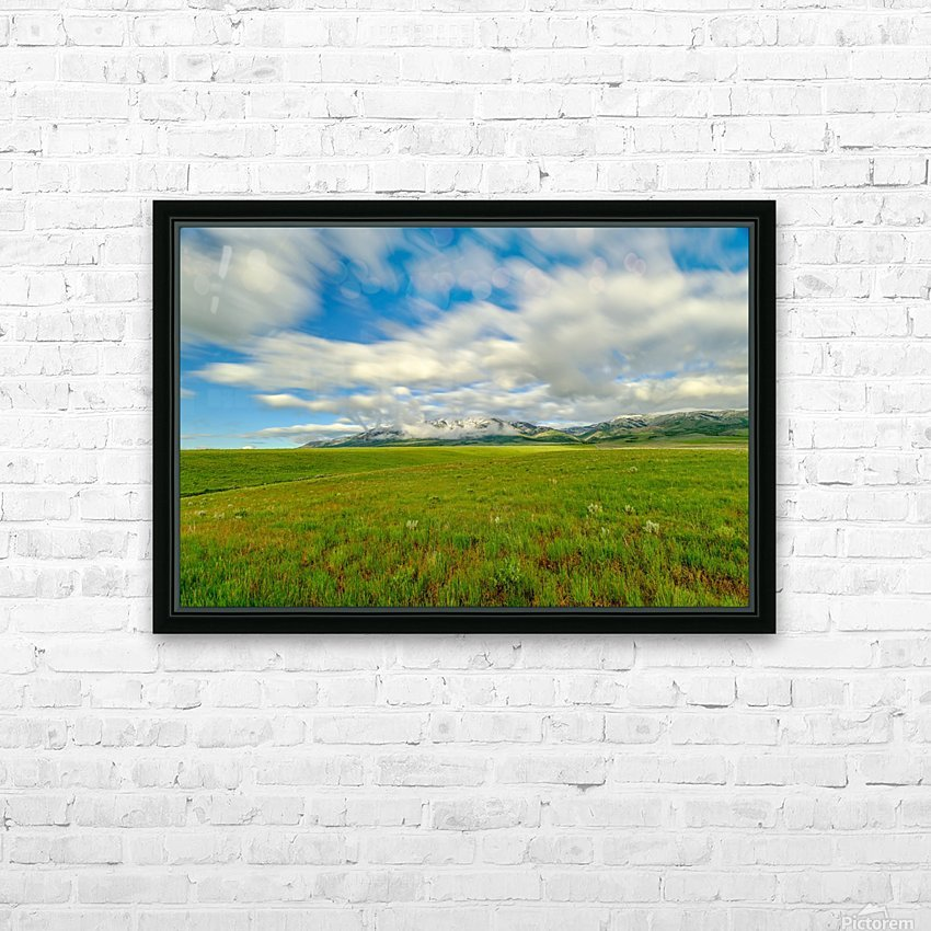 Long Exposure Goodenough Canyon HD Sublimation Metal print with Decorating Float Frame (BOX)