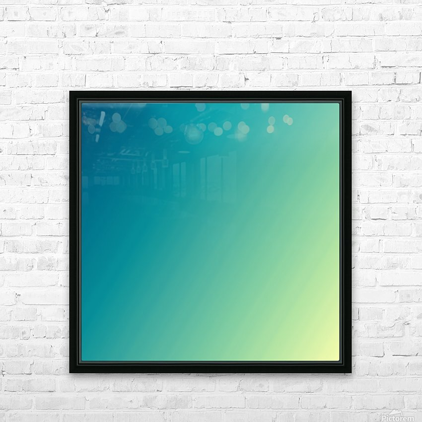 COOL DESIGN (50) HD Sublimation Metal print with Decorating Float Frame (BOX)