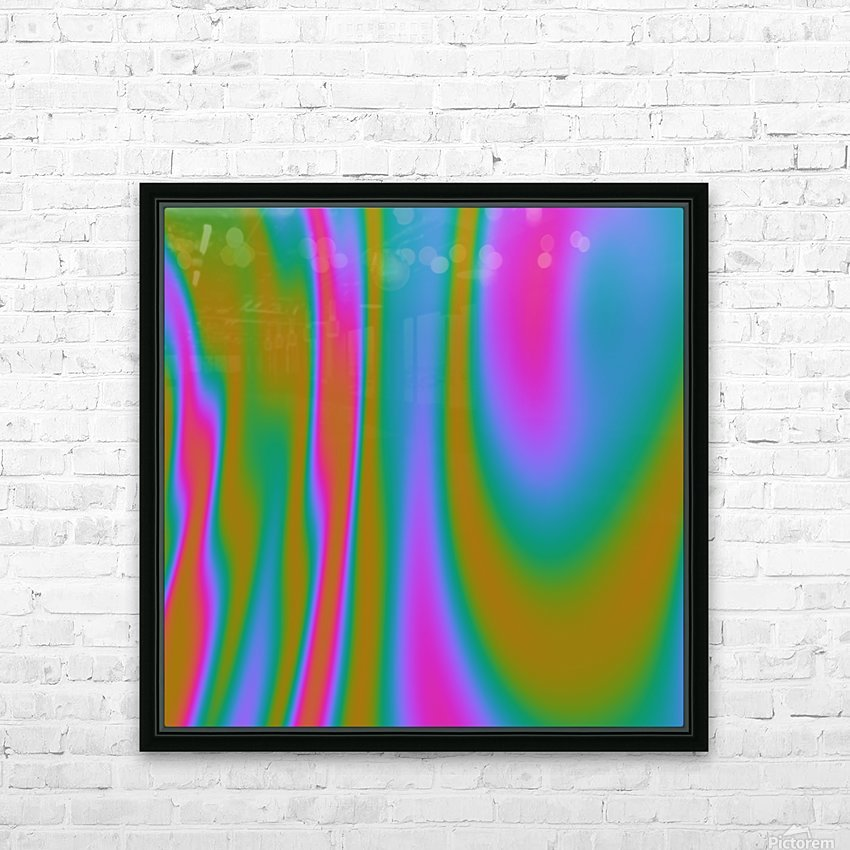 COOL DESIGN  (66) HD Sublimation Metal print with Decorating Float Frame (BOX)
