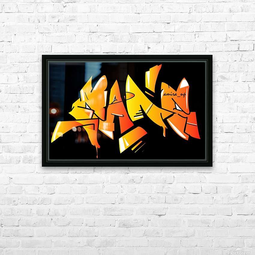 gang HD Sublimation Metal print with Decorating Float Frame (BOX)