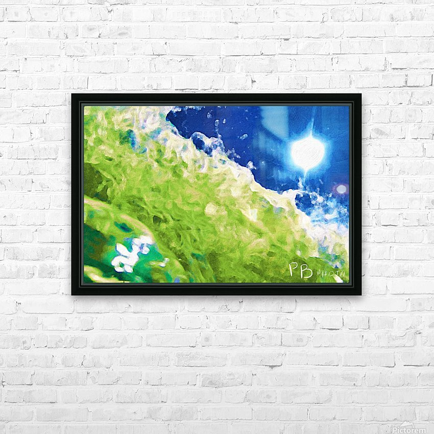 Sun & Surf HD Sublimation Metal print with Decorating Float Frame (BOX)