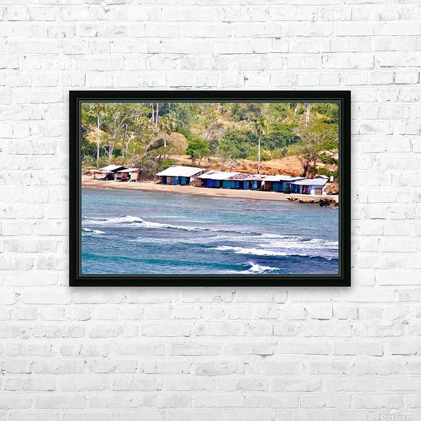 paradise HD Sublimation Metal print with Decorating Float Frame (BOX)