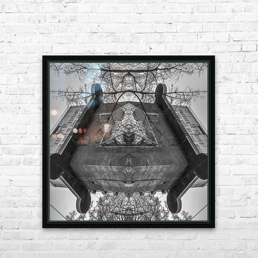 Vienna - Aquarium HD Sublimation Metal print with Decorating Float Frame (BOX)