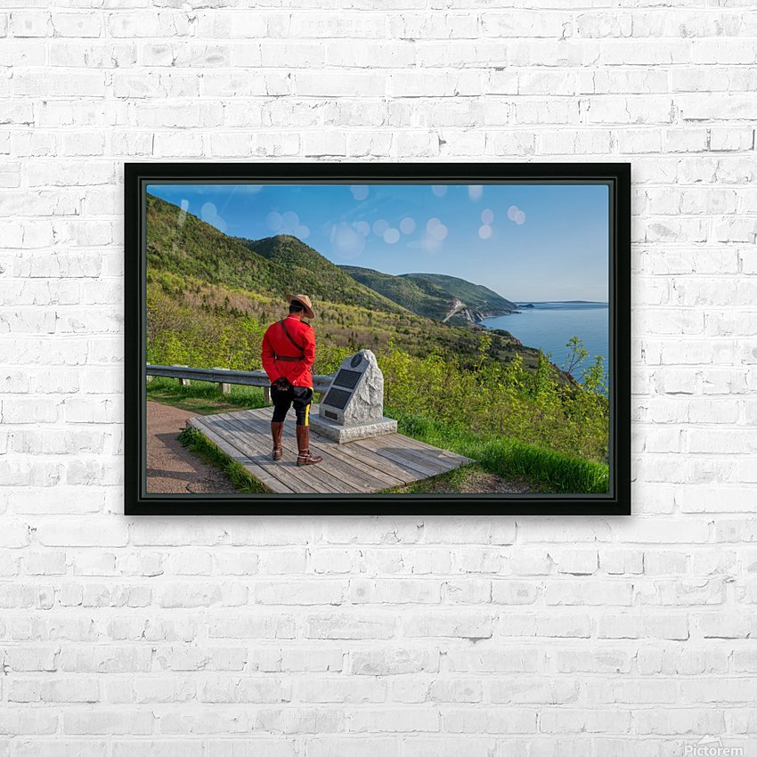 A moment for the fallen HD Sublimation Metal print with Decorating Float Frame (BOX)