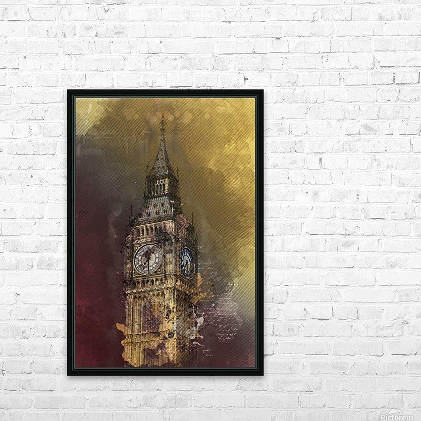 london big ben building HD Sublimation Metal print with Decorating Float Frame (BOX)