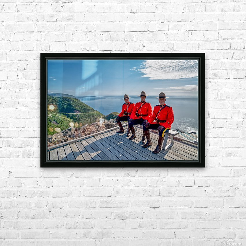 Have a Seat - in Red Serge HD Sublimation Metal print with Decorating Float Frame (BOX)