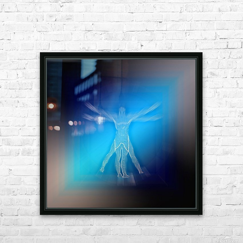 VV HD Sublimation Metal print with Decorating Float Frame (BOX)