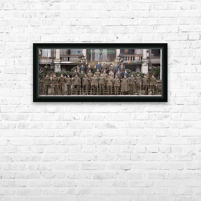Amputation Club of BC HD Sublimation Metal print with Decorating Float Frame (BOX)