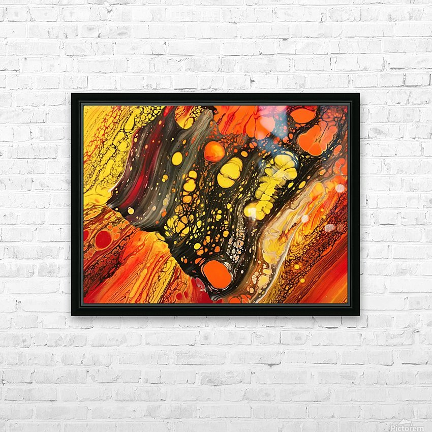Retrospective  HD Sublimation Metal print with Decorating Float Frame (BOX)