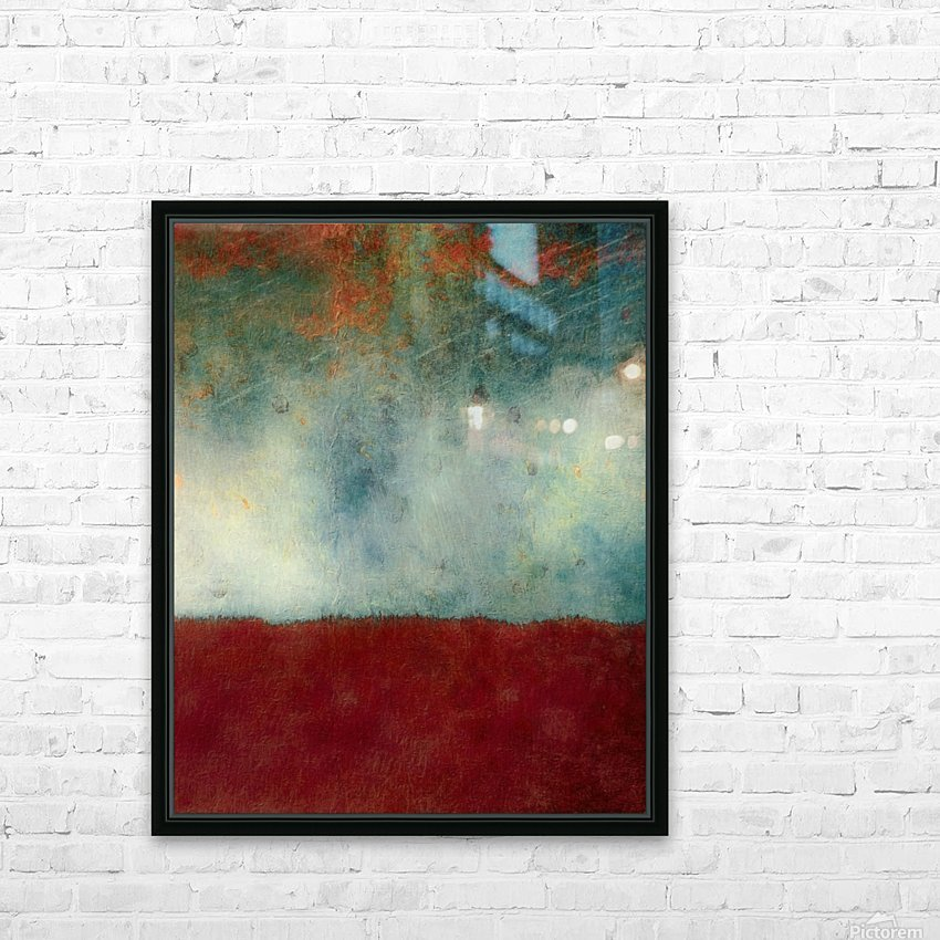 The Gathering Storm HD Sublimation Metal print with Decorating Float Frame (BOX)