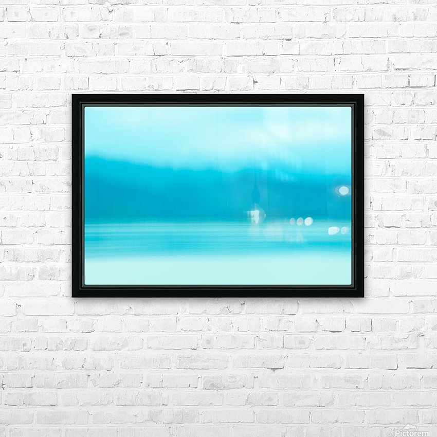 RIVEROFDREAMS HD Sublimation Metal print with Decorating Float Frame (BOX)