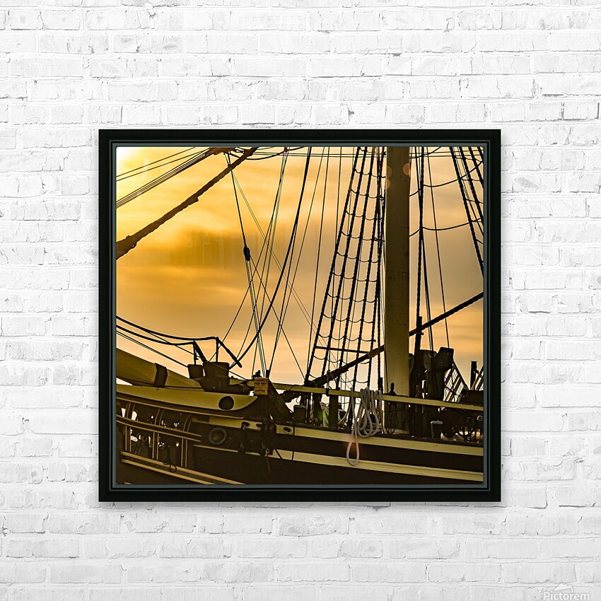 Friendship of Salem 8 HD Sublimation Metal print with Decorating Float Frame (BOX)