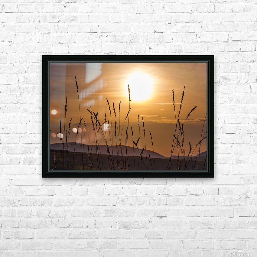 Colebrook Afternoon HD Sublimation Metal print with Decorating Float Frame (BOX)